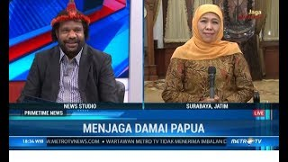 Lenis Kogoya Memuji Khofifah Sudah Jadi Mama Bagi Warga Papua di Jatim