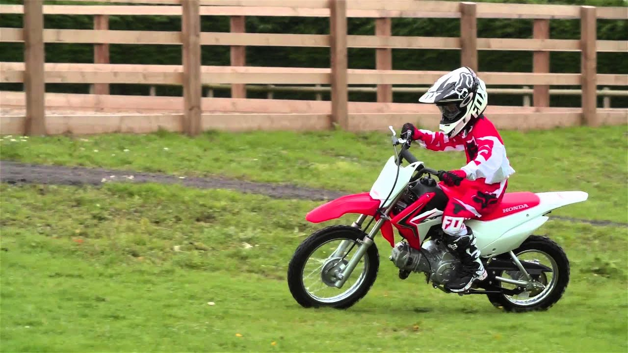 Honda Kids Off-Road Range – CRF50F, CRF110F & CRF125F - YouTube
