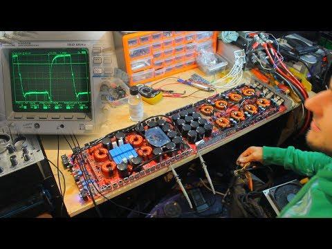 Amplifier Repair 10,000Wrms Ground Zero 10K subwoofer amp