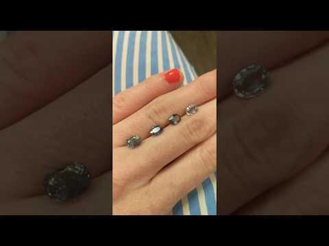 Parti Color Montana Sapphires at Secrète Fine Jewelry in Washington, DC