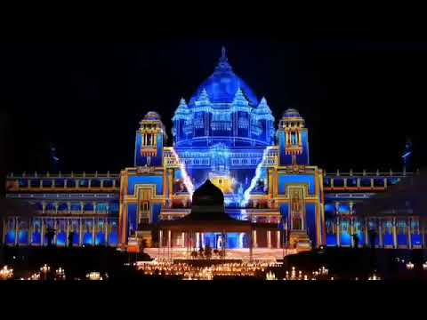Royal 3D Mapping Building Jaipur Palace Event Indian +91 81225 40589 (WA)