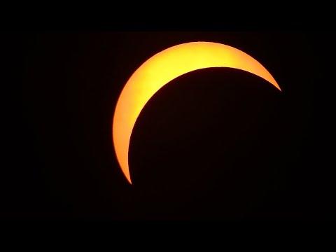 Partial Solar Eclipse in NE Ohio