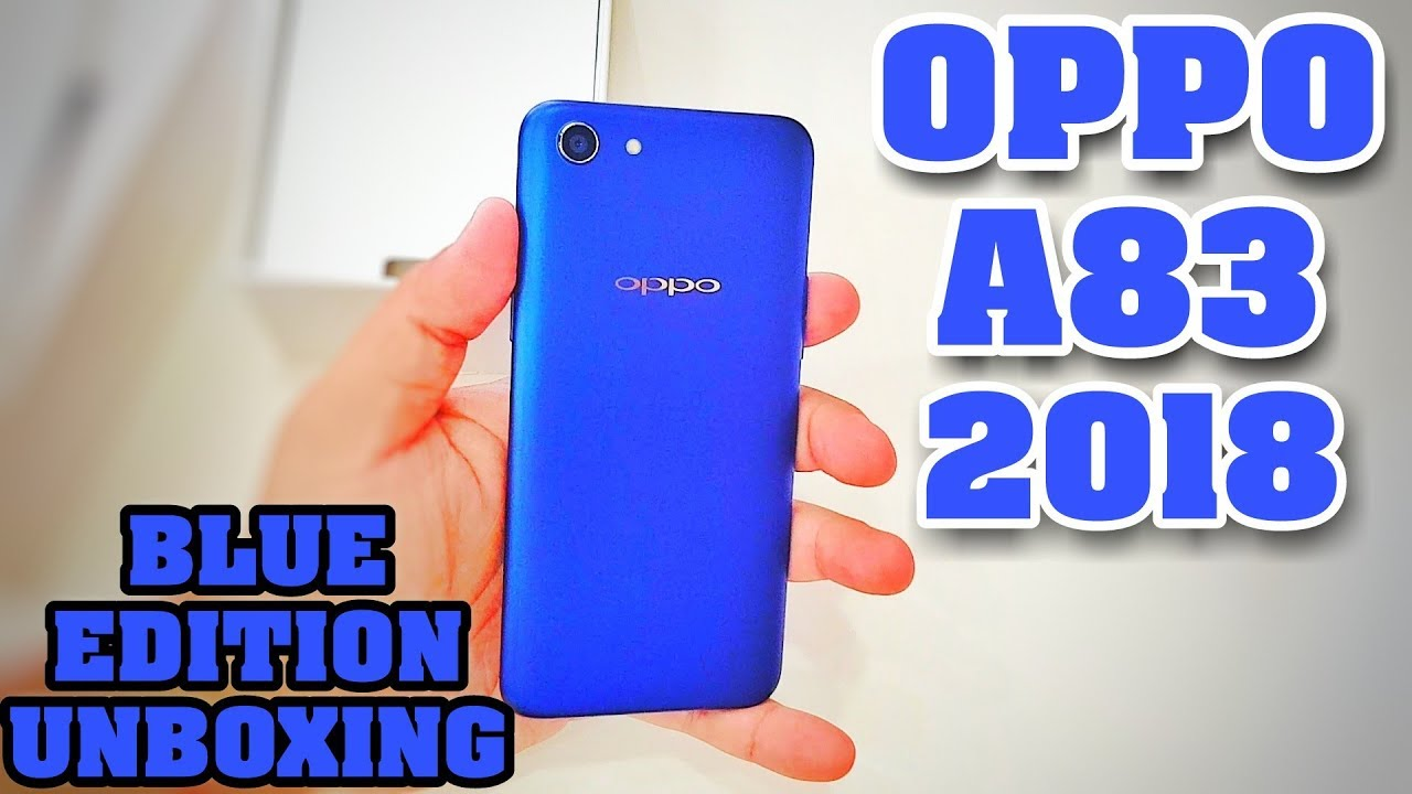 Oppo A83 Blue Edition Unboxing | 2018 - 4GB Ram/64GB Memory