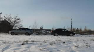 ВАЗ 2112 vs Mitsubishi lancer IX
