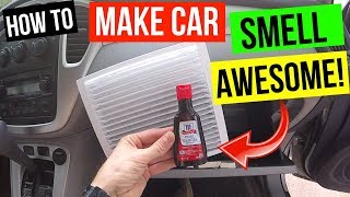 Easy All Natural DIY Car Air Freshener! -Jonny DIY