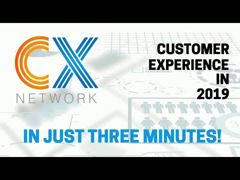 Customer Experience 2019... in 3 Minutes