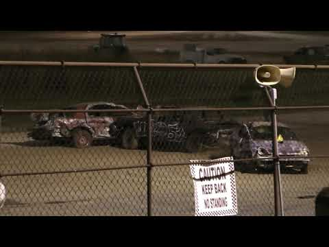 Demolition derby is a motorsport usually presented at county fairs and festivals. While rules vary from event to event, the typical demolition derby event consists ... - dirt track racing video image