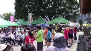 2015.6.7 ~開成あじさい祭り~に参加しました。県西地域高校生の部活発...
