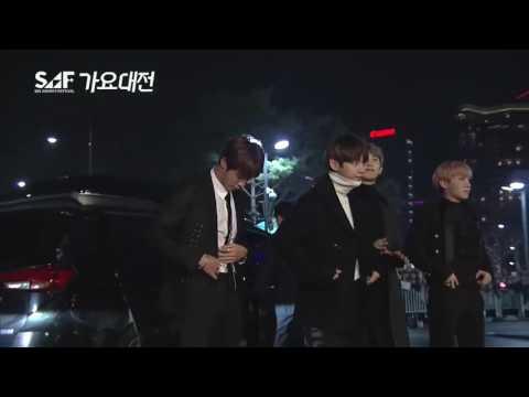 161226 BTS - Red Carpet || SBS Gayo Daejun