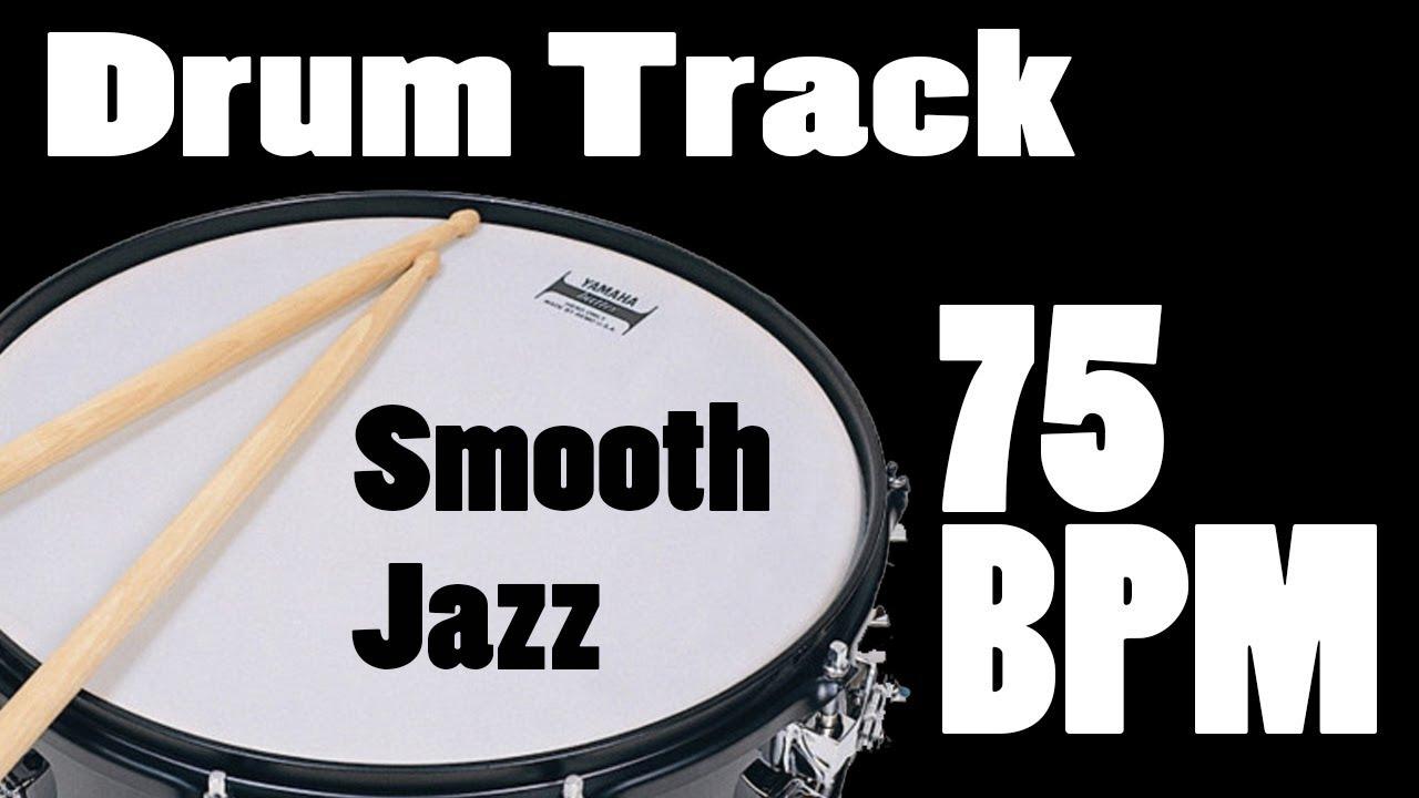 Drum Track - 75 BPM - Smooth Jazz - Neo Soul