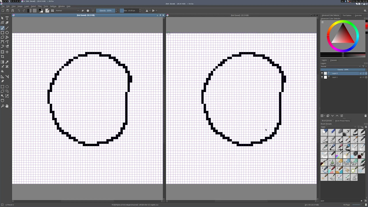 How To Set Up Krita For Pixel Art