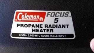 Coleman Propane Heater(, 2010-12-14T17:23:16.000Z)