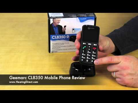 Geemarc CL8350 Mobile Phone Review