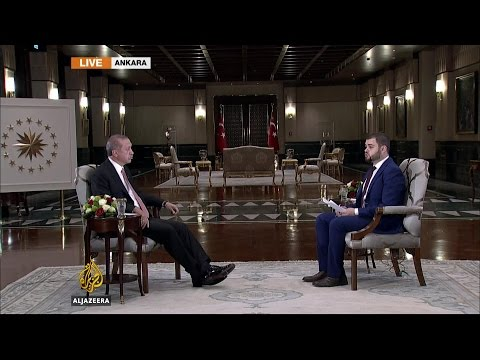 Turkish President Erdogan speaks to Al Jazeera after failed coup