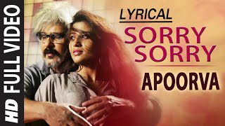 Download Hindi Video Songs - Sorry Sorry Lyrical Full Video Song | Apoorva | V. Ravichandran, Apoorva