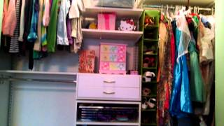 An Organized Kid's Closet | From A Child's Perspective
