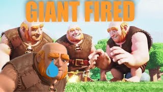 Clash of Clans Story | GIANT BUILDER WAS FIRED | EXPLAINED | WITCH EVENT