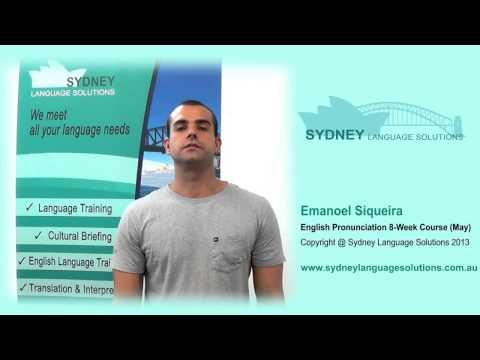 English Pronunciation | Sydney Language Solutions