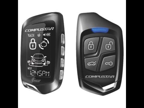 Car Key Programming >> How To Program a Compustar Remote Control / Keyfob - YouTube