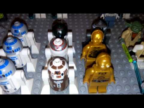 lego star wars personnages et 1re video