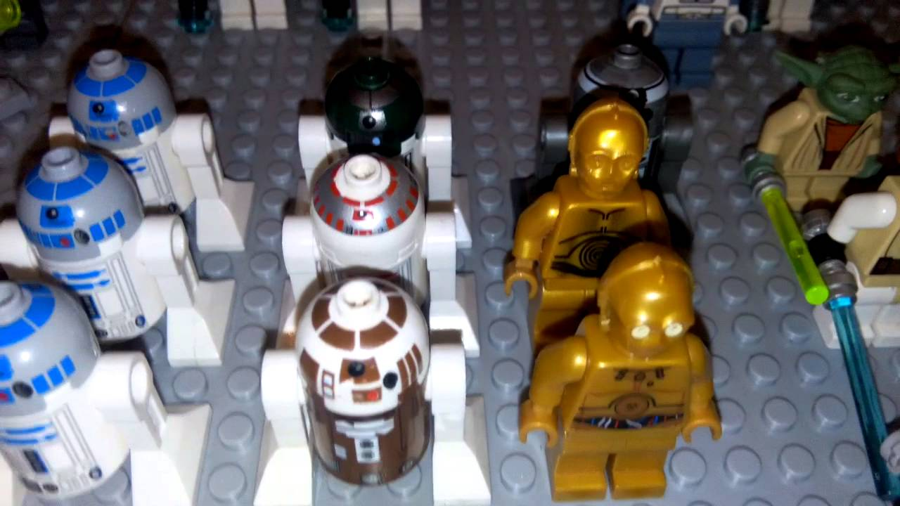Lego star wars personnages et 1 re video youtube - Personnage star wars lego ...