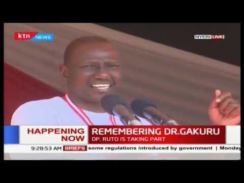 DP Ruto takes a subtle \'mamba\' dig at Raila yet again during Dr. Gakuru Half Marathon