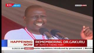 DP Ruto takes a subtle 'mamba' dig at Raila yet again during Dr. Gakuru Half Marathon
