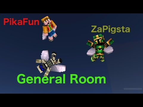 Flame Show's Pikafun's & ZaPigsta's House, Including General Room!