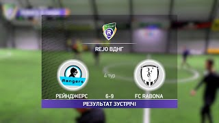 Обзор матча Рейнджерс FC Rabona Турнир по мини футболу в Киеве