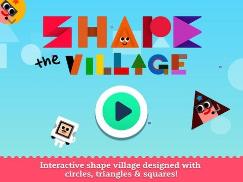 Shape the Village Part 2 - Interactive Introduction on Circle Triangle & Square