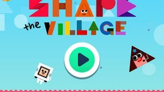 shape the village part 2 interactive introduction on circle triangle square