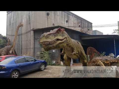 Zigong vivid animatronic 3d dinosaur model for sale