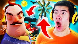 Hello Neighbor - GIRL PRISONER & BABY IN ALPHA 3 UPDATE?