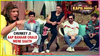 Krushna Abhishek aka SAPNA Makes FUN Of Chunkey Panday | The Kapil Sharma Show Housefull 4