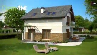 4M266 Проект дома 9 на 10 метров(Подробнее с проектом дома можно ознакомится на нашем сайте: ..., 2016-02-22T06:38:09.000Z)