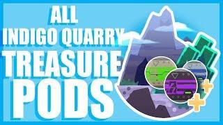 Slime Rancher-All INDIGO QUARRY Treasure Pods!!!