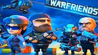 Новая игра Мульт война Крутой боевик WAR FRIENDS Онлайн битва Ранги  Большой выбор солдат и оружия