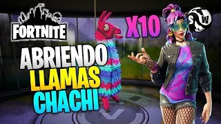 Fortnite Save the World ? OPENING CHACHI FLAMES (RAD LLAMAS)
