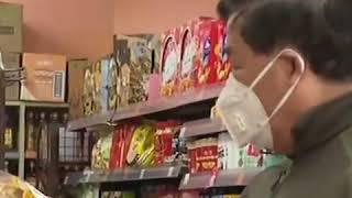 Супермаркеты и магазины в микрорайонах постепенно открывают свои двери для покупателей в городе Ухан