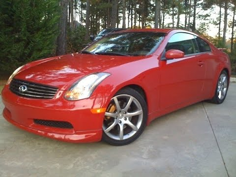 2004 Infiniti G35 coupe review - In three minutes you'll be an expert on G35 coupes