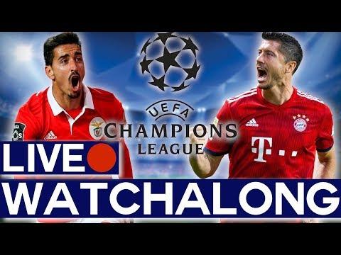 🔴 SL Benfica vs FC Bayern Munich Live Match Watchalong Stream - UEFA Champions League GROUP STAGE