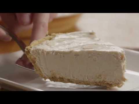 How To Make No Bake Peanut Butter Pie | Pie Recipe | Allrecipes.com