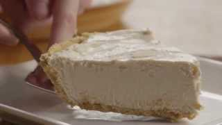 Pie Recipe - How To Make No Bake Peanut Butter Pie