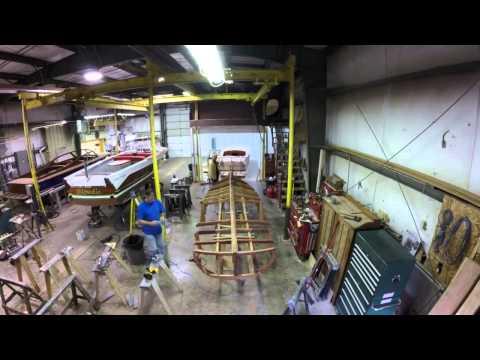 Building a Chris Craft Race Boat Replica