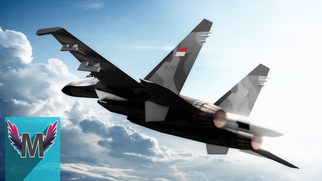 5 Pesawat Tempur Canggih Milik Indonesia - YouTube