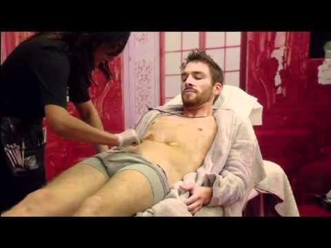 Men brazilian wax video