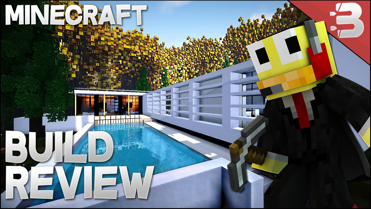 Minecraft Epic Modern House Modern Forest Home YouTube