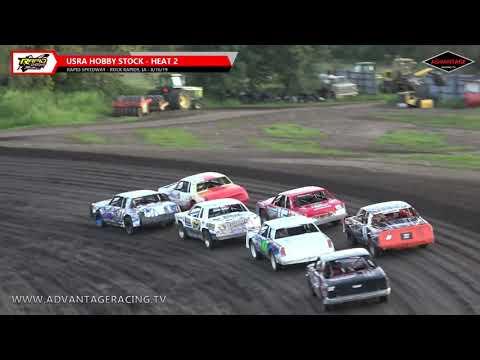 Sportsman/Hobby Stock Heats - Rapid Speedway - 8/16/19