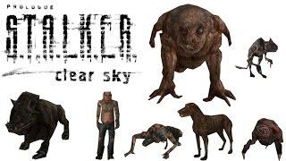 All Mutants (HD) S.T.A.L.K.E.R.: Clear Sky