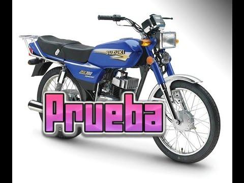 Moto suzuki ax 100 m<br><iframe title=